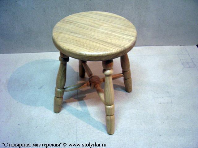 Табуреты с круглым сиденьем своими руками - Ubolussur.ru